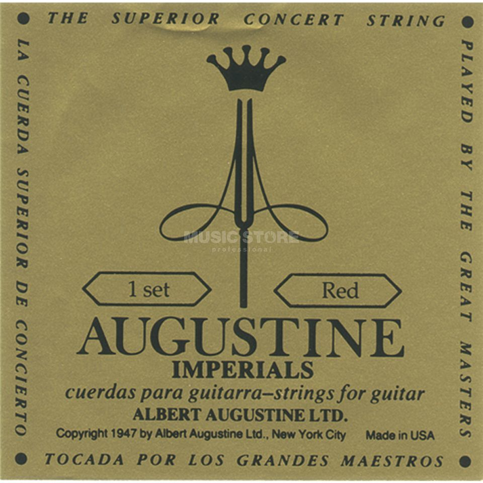 Augustine Classic Imperial Red Medium Tension Produktbild