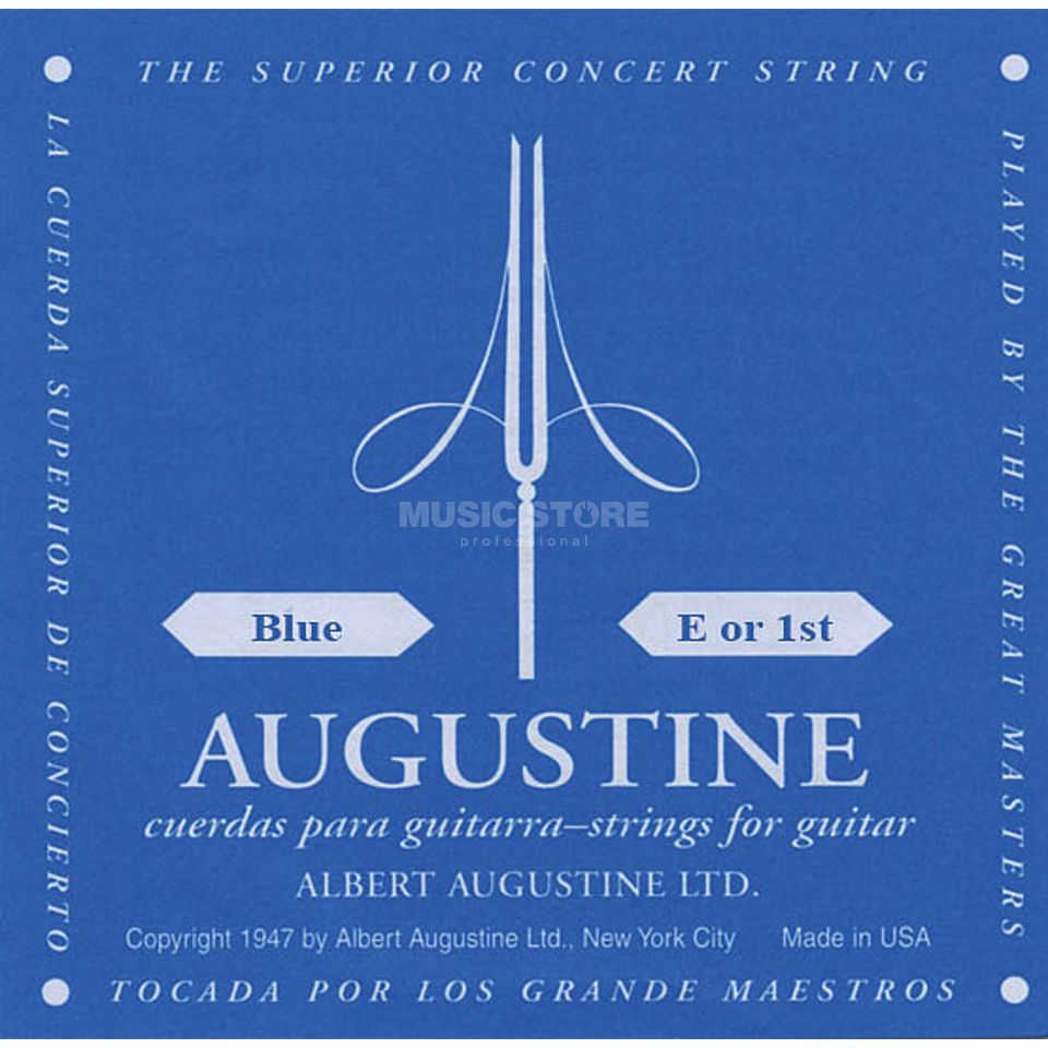 Augustine Single String, 1e blue  Produktbillede