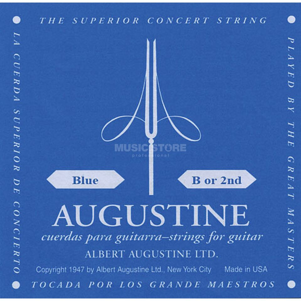 Augustine Single String 2h blue  Produktbillede