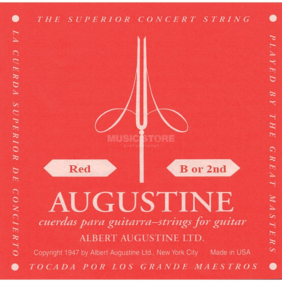 Augustine Single String, 2h red  Produktbillede