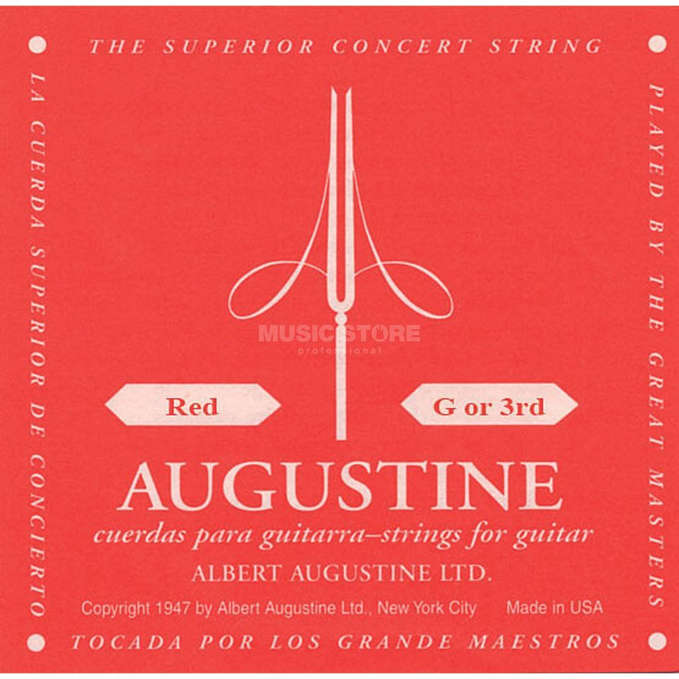 Augustine Single String, 3g red  Produktbillede
