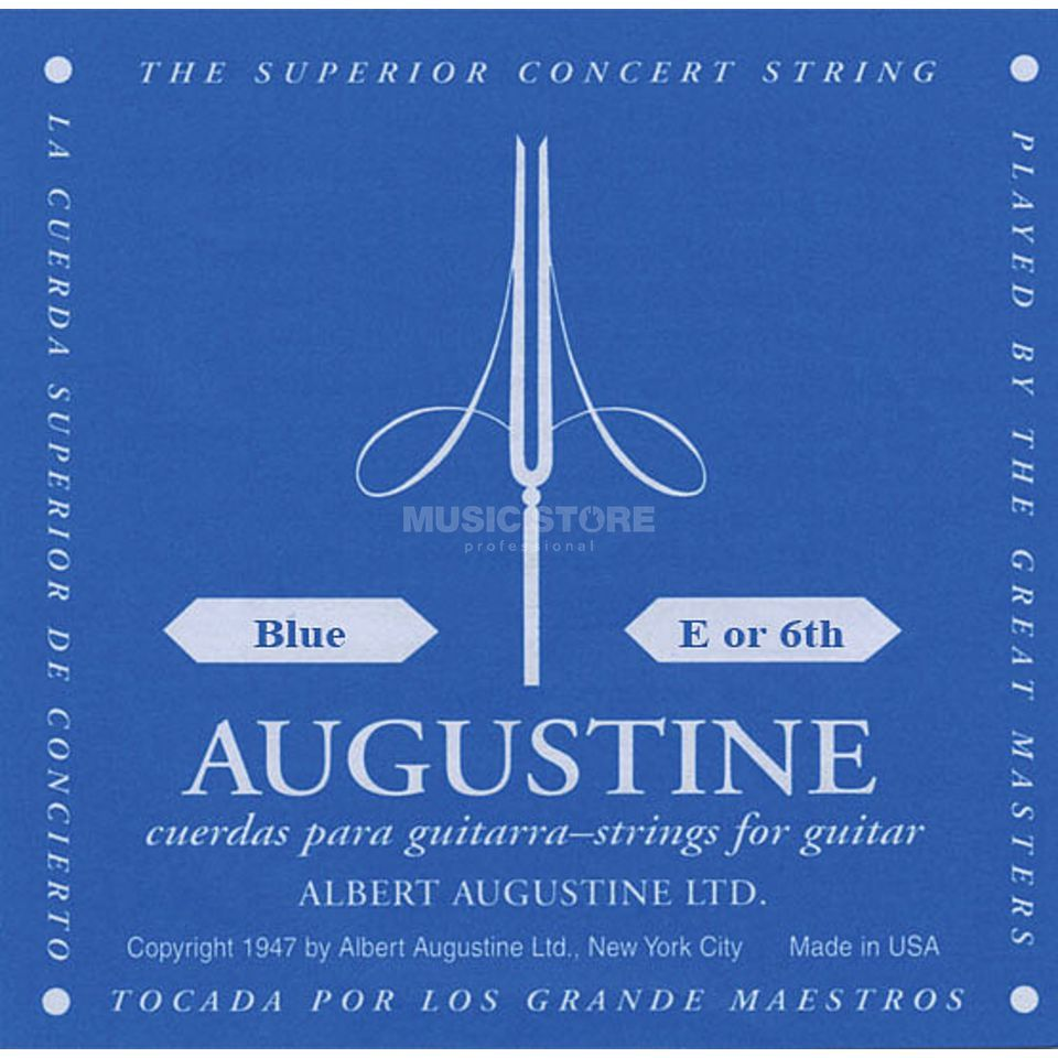 Augustine Single String, 6e blue  Produktbillede