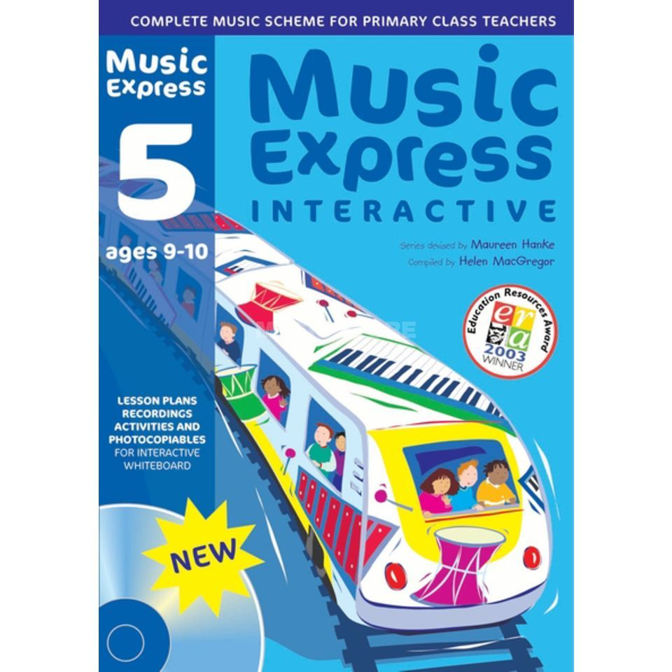 A&C Black Music Express Interactive - 5: Ages 9-10, CD-ROM Produktbillede