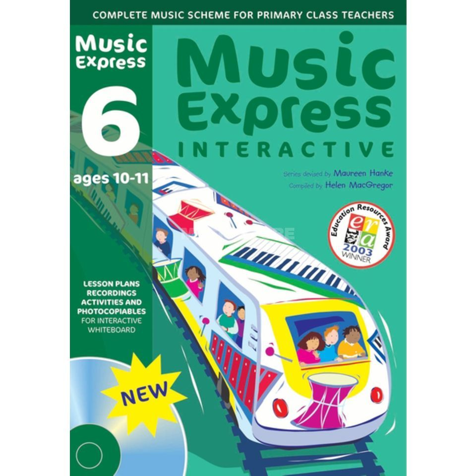 A&C Black Music Express Interactive - 6: Ages 10-11, CD-ROM Produktbild