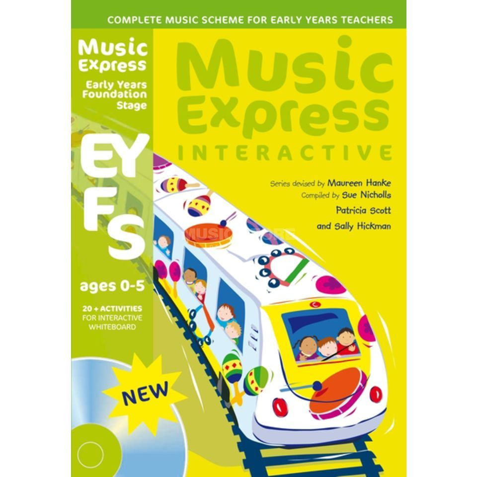 A&C Black Music Express Interactive: Foundation Stage: Ages 0-5 Produktbillede