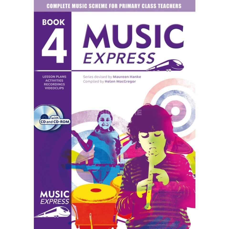 A&C Black Music Express: Year 4 Book, CD/CD-Rom Produktbild