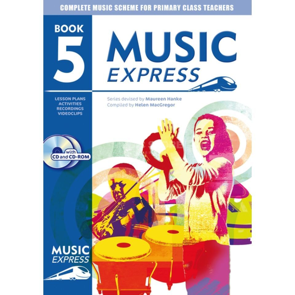 A&C Black Music Express: Year 5 Book, CD/CD-Rom Produktbild