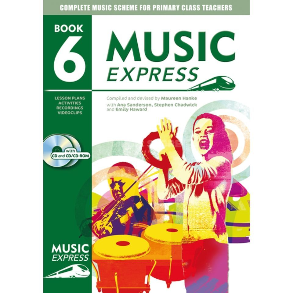 A&C Black Music Express: Year 6 Book, CD/CD-Rom Produktbillede