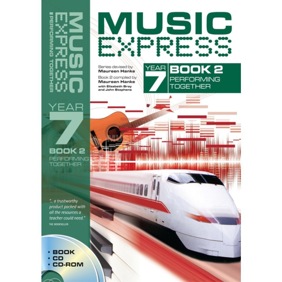 A&C Black Music Express: Year 7 Book 2, CD/CD-Rom Produktbillede