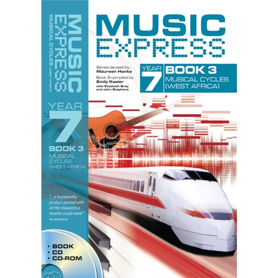 A&C Black Music Express: Year 7 Book 3, CD/CD-Rom Product Image