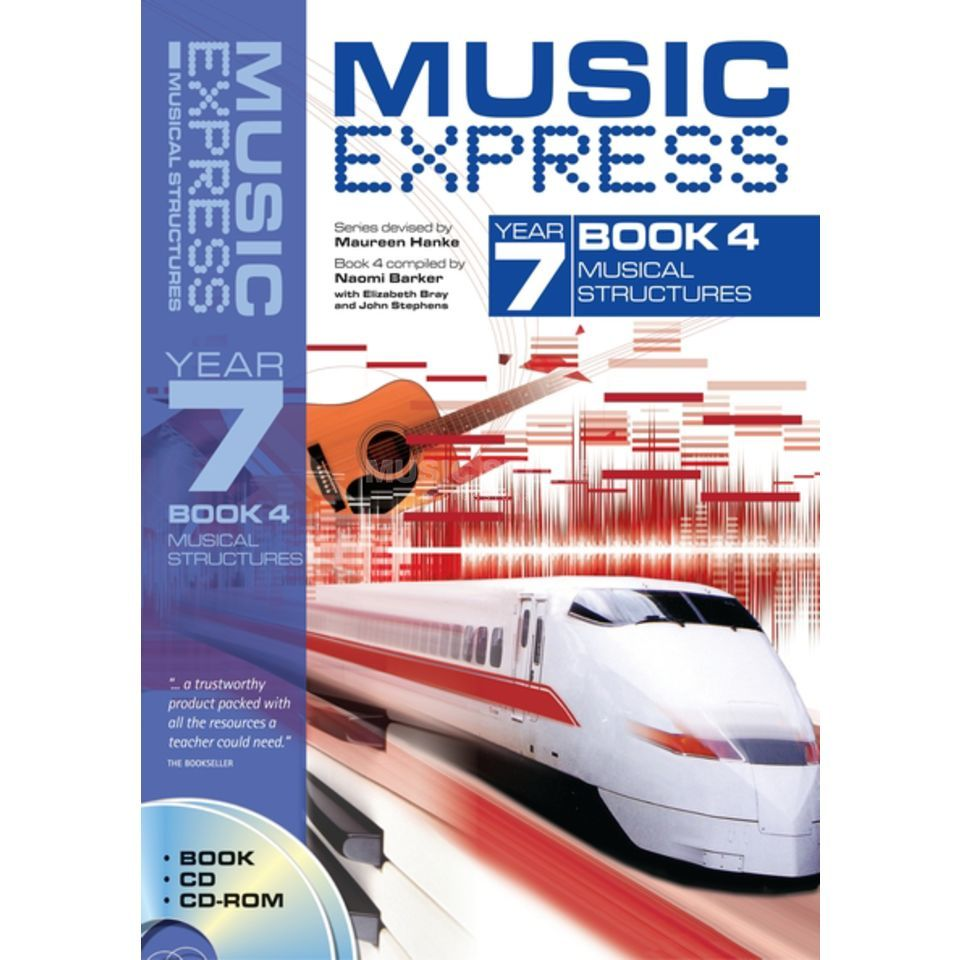 A&C Black Music Express: Year 7 Book 4, CD/CD-Rom Produktbillede