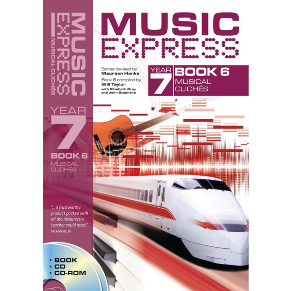 A&C Black Music Express: Year 7 Book 6, CD/CD-Rom Produktbild