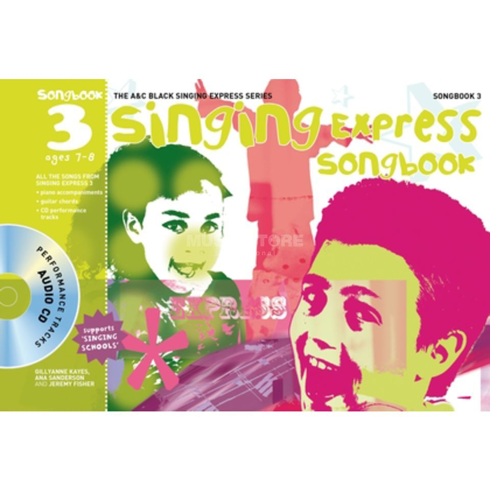 A&C Black Singing Express Songbook 3 Book, CD Produktbillede