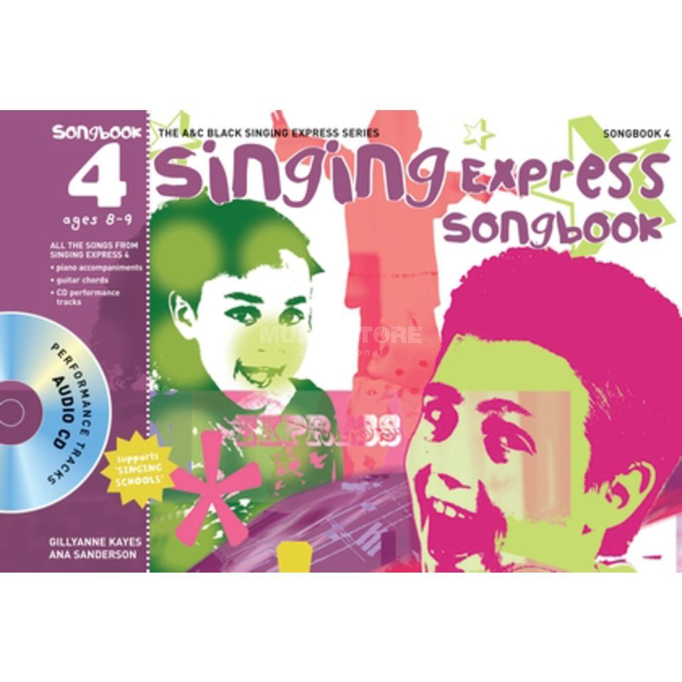 A&C Black Singing Express Songbook 4 Book, CD Produktbild