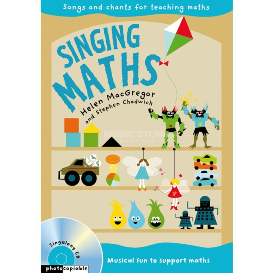 A&C Black Singing Maths Audio-CD and Book Produktbild