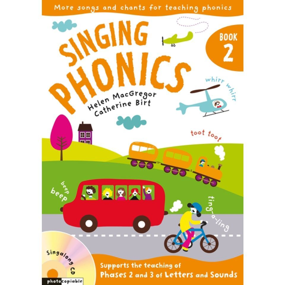 A&C Black Singing Phonics 2 Book, CD Produktbillede