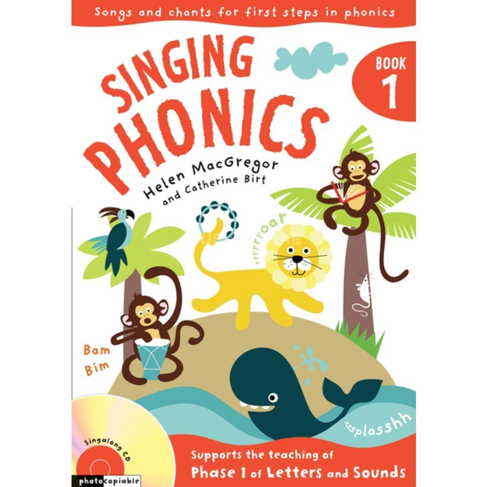 A&C Black Singing Phonics Book, CD Produktbild