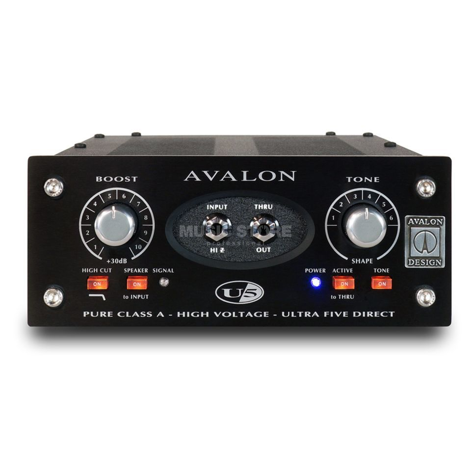 Avalon Design U5 Black Edition Mono Preamp / DI Produktbild