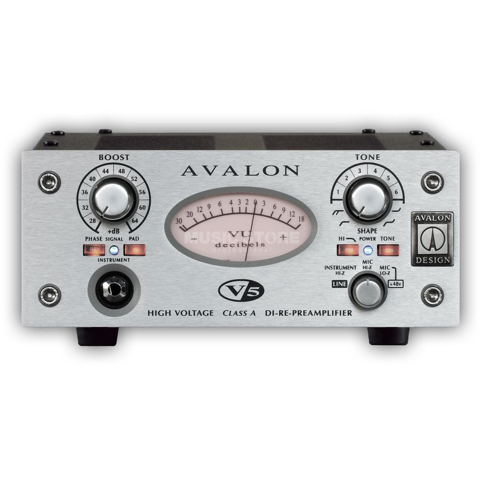 Avalon Design V5 1 canal D.I.-Re-Mic Preamp Image du produit
