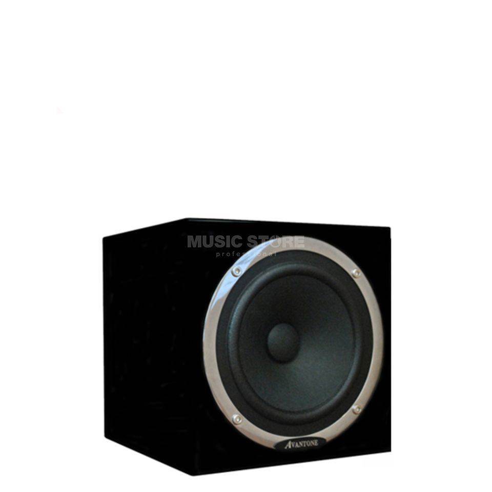 Avantone Mixcube, Black Single Active Studio Monitor, Black Produktbillede