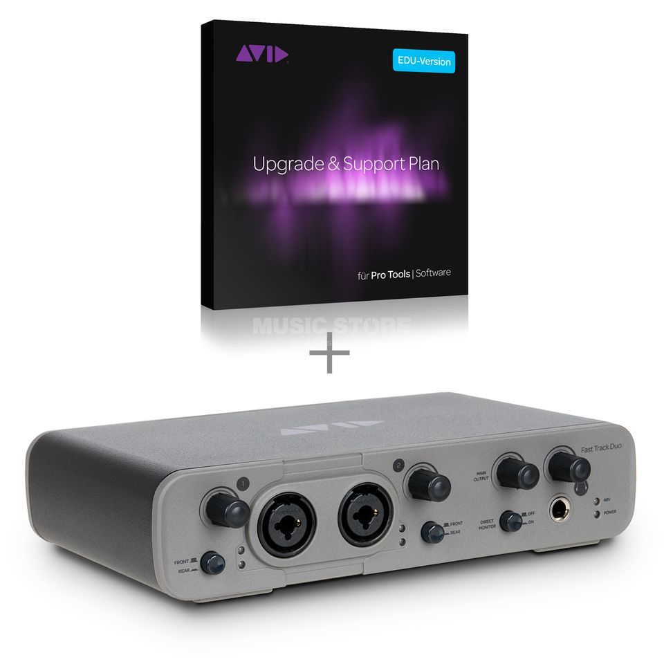Avid EDU ProTools Fast Track Duo incl. PT EXPRESS Product Image