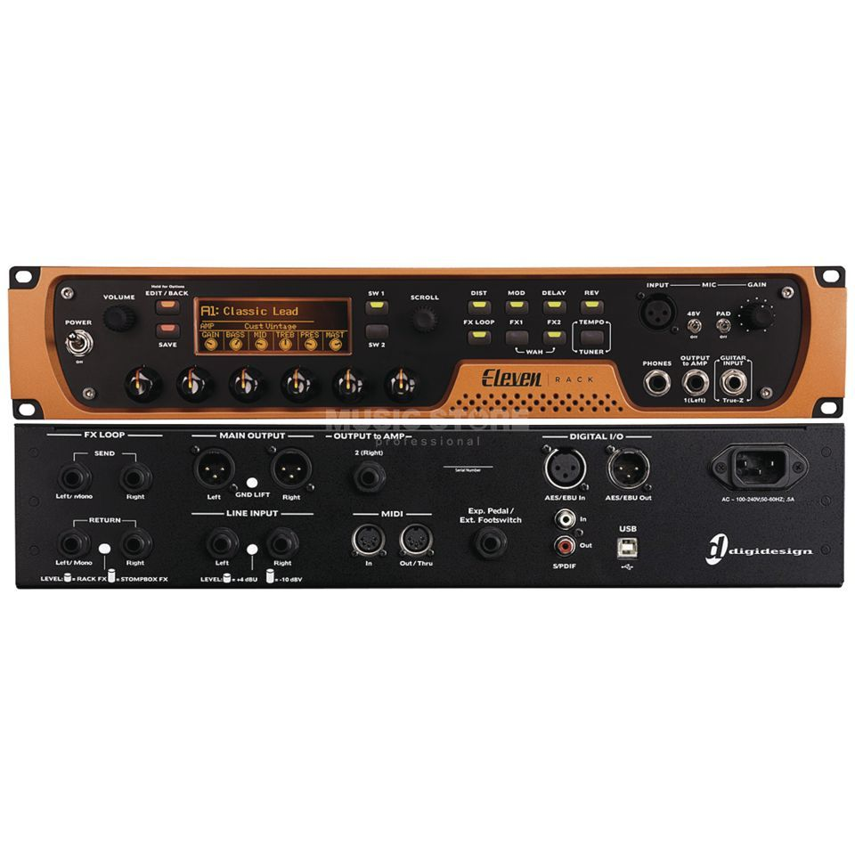 Avid Eleven Rack inkl. Pro Tools 10 Guitar Recording System Product Image