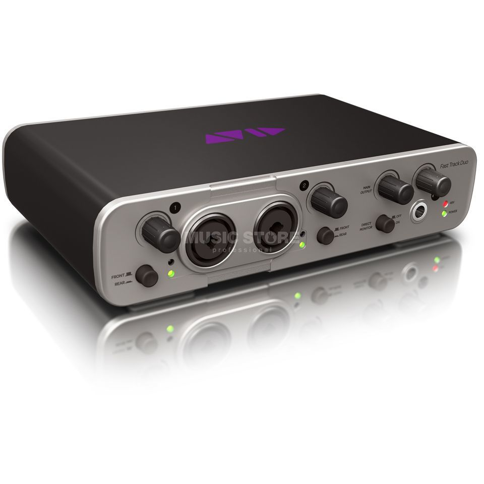 Avid Fast Track Duo incl. Pro Tools Express Produktbillede