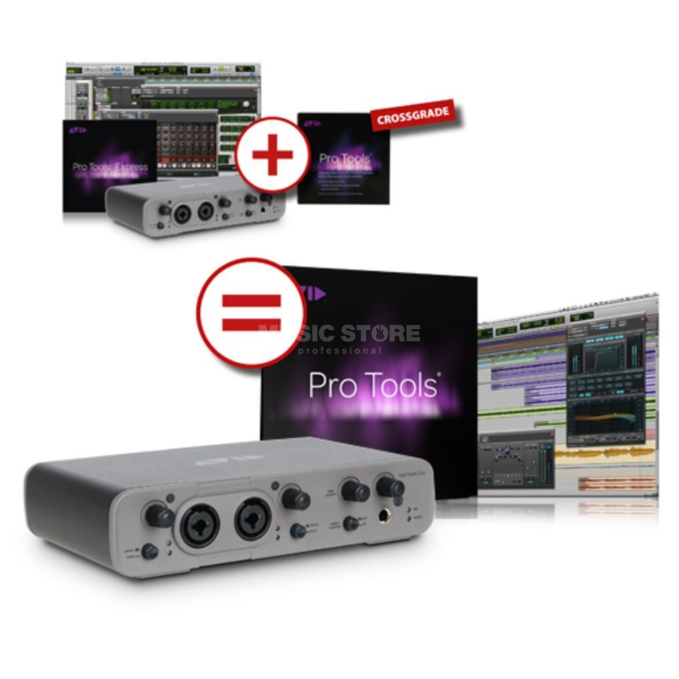 Avid Fast Track Duo ohne Pro Tools B-STOCK Produktbillede