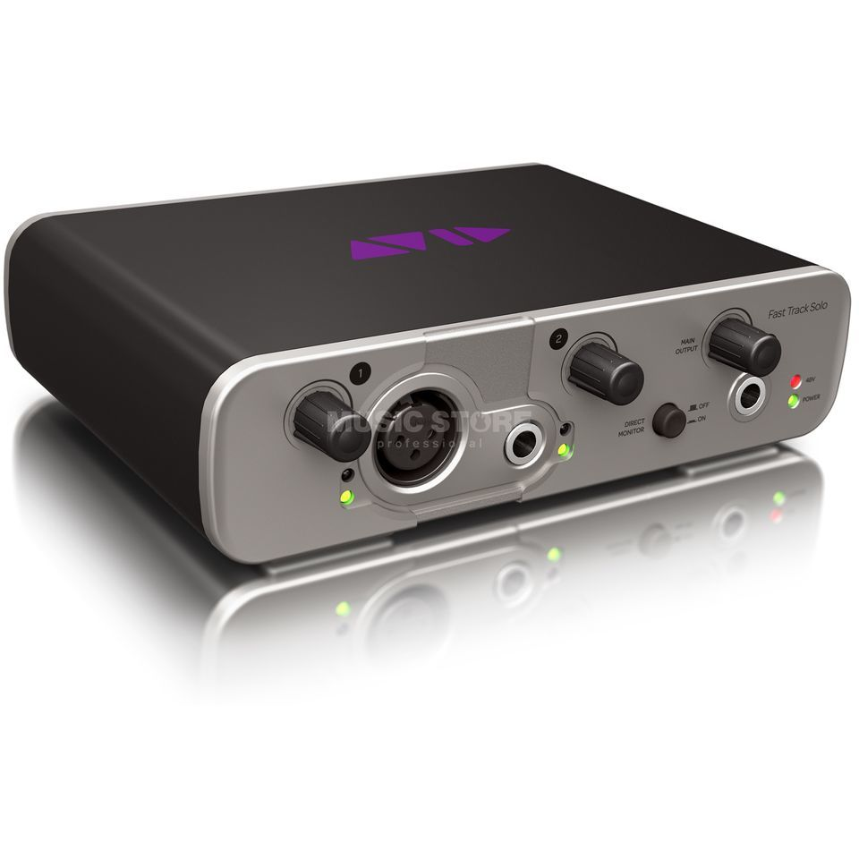 Avid Fast Track Solo incl. Pro Tools Express Produktbillede