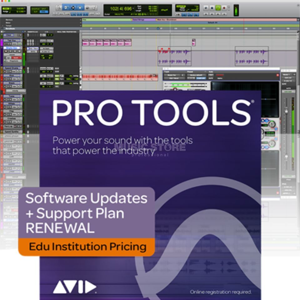 Avid Upgrade & Support Plan Verlängerung für Pro Tools EDU Institute Product Image