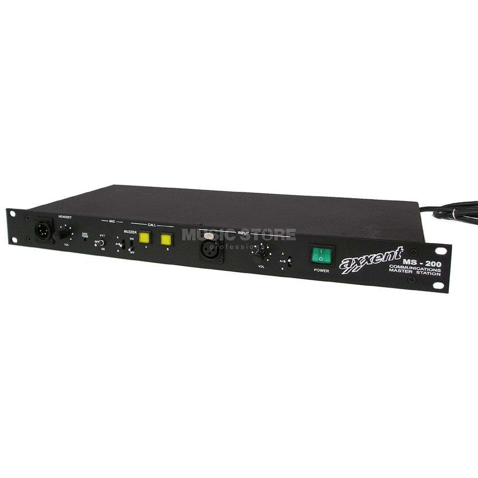 "axxent MS-200 19"" Master Station 2-Channel Master Station Produktbillede"