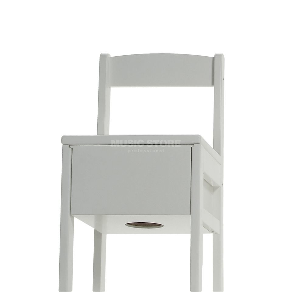 Baff Children Drumming Stool L, white Produktbillede