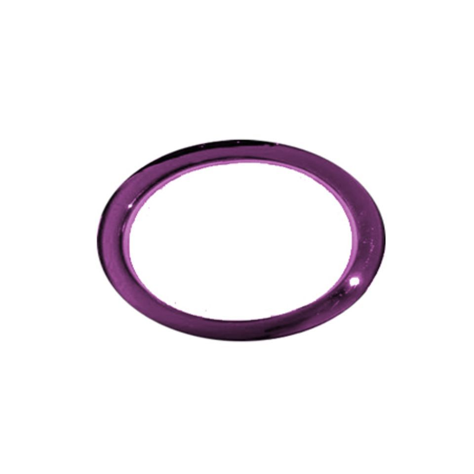 "BASS DRUM O´S BD-Fell Verstõrkungsring 6"" Oval, Purple, HOP7 Immagine prodotto"