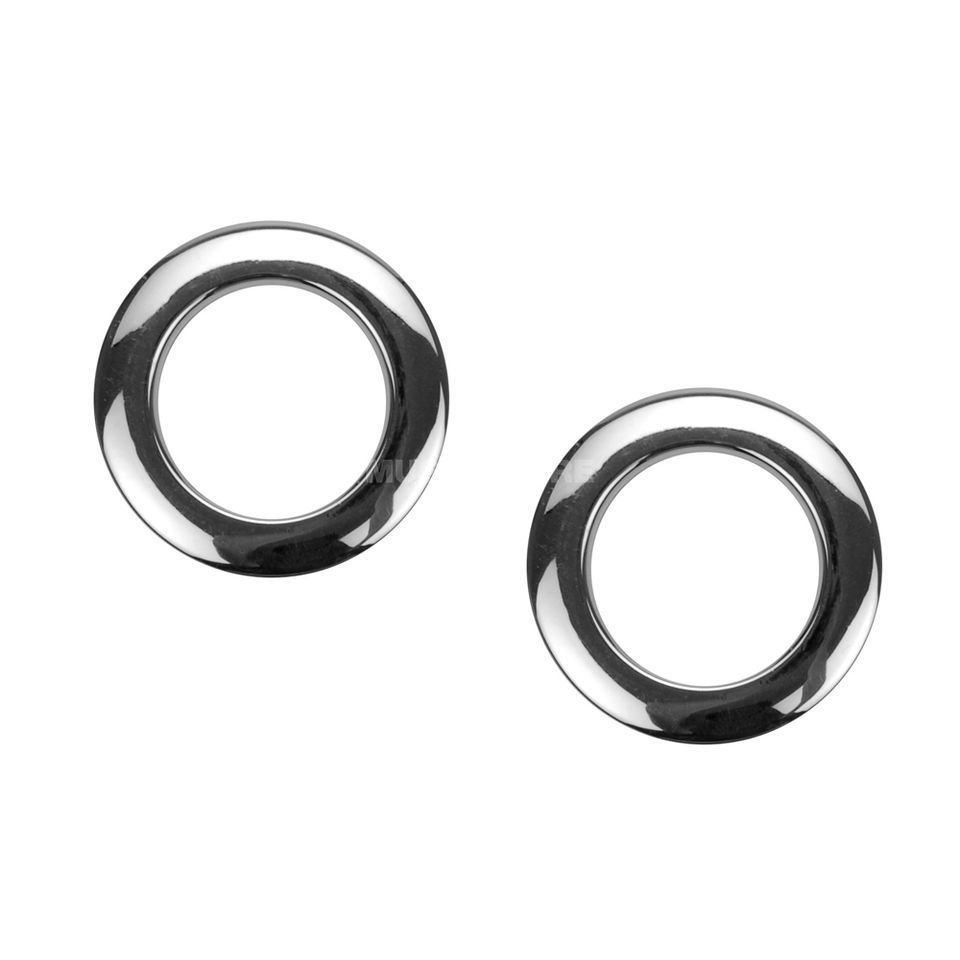 "BASS DRUM O´S BD-Head Reinforcement Ring 2"" Chrome HC2 x2 Product Image"