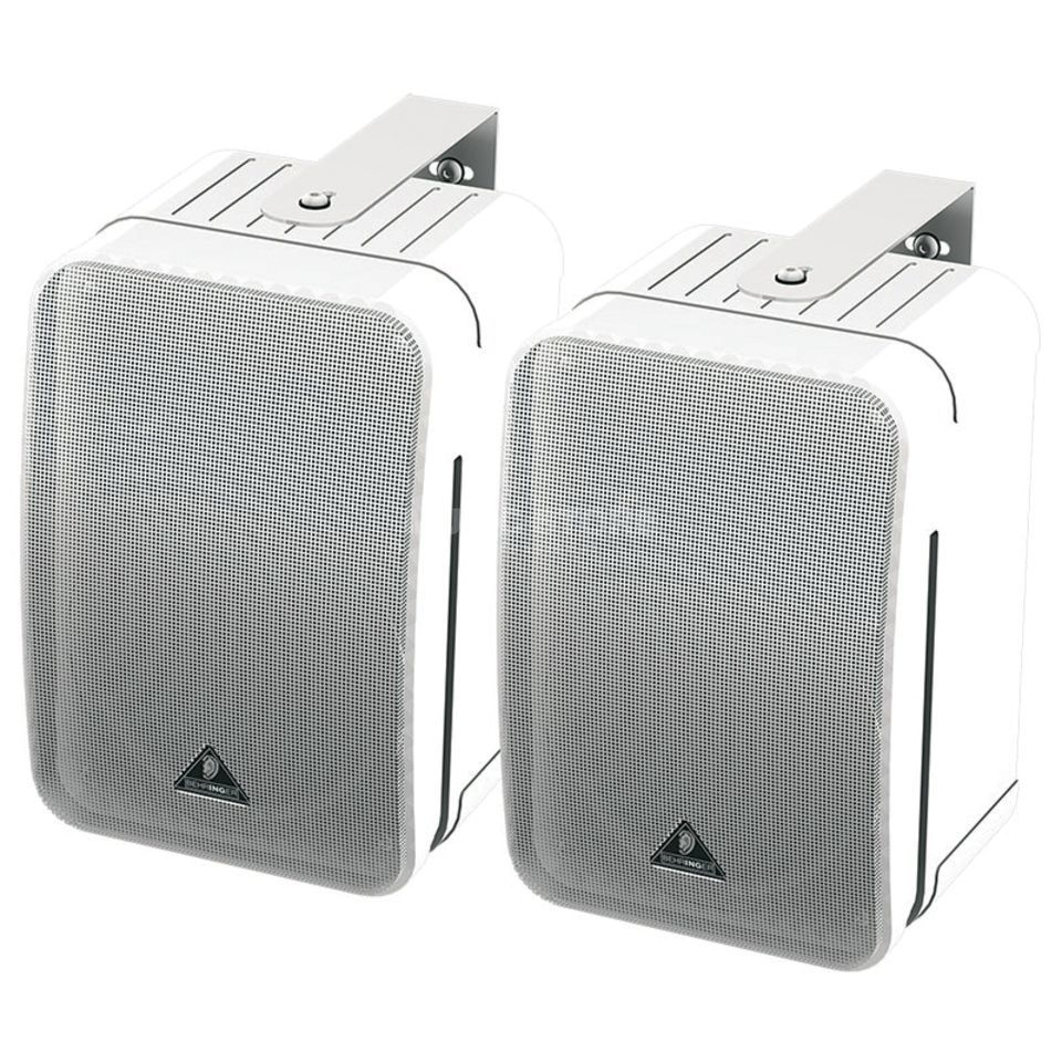 Behringer 1C-WH Ultra-Compact Monitor Speakers, White-Pair Produktbillede