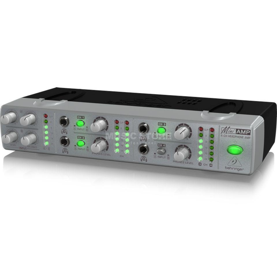 behringer amp800 mini amp koptelefoonversterker 4 kanaal. Black Bedroom Furniture Sets. Home Design Ideas