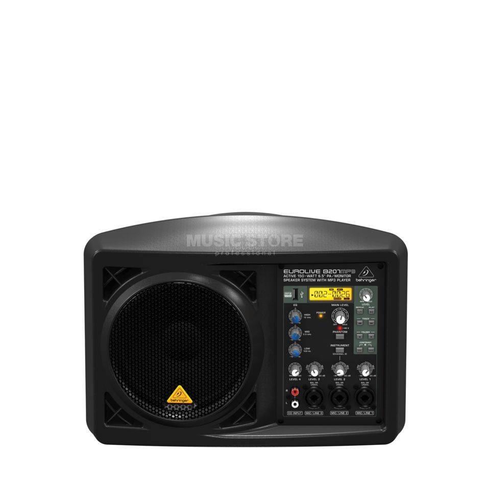 "Behringer B207MP3 aktiver 6,5"" Monitor Produktbild"