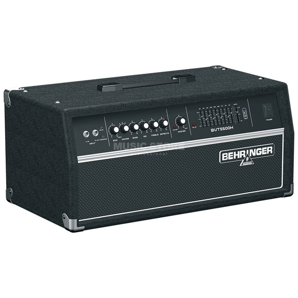 Behringer BVT5500H ULTRABASS Bass Guitar  Amp Head   Product Image
