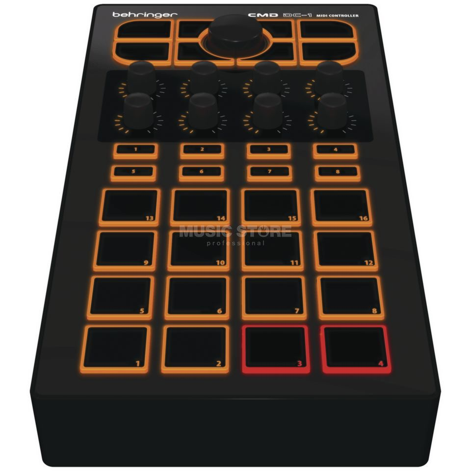 Behringer CMD DC-1 Pad-Based MIDI Module Product Image