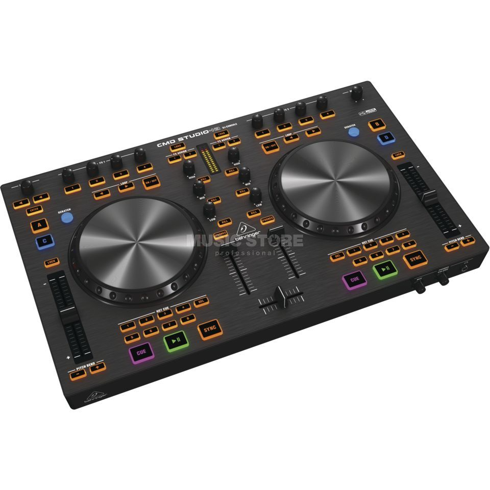 Behringer CMD STUDIO 4A 4-Deck DJ MIDI Controller Product Image
