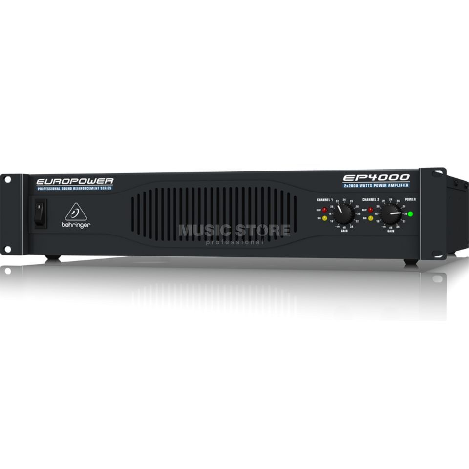 Behringer EP4000 Professional Stereo Power Amplifier Product Image