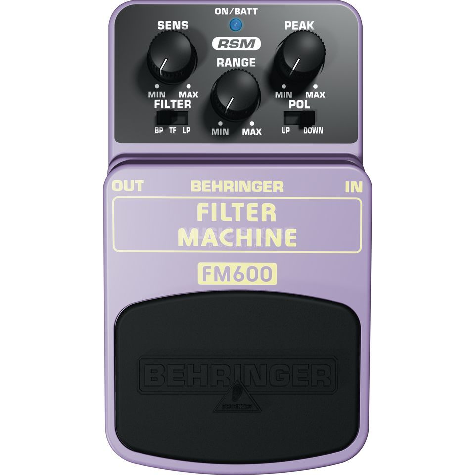 Behringer Filter Machine FM600 Effects P edal   Produktbillede