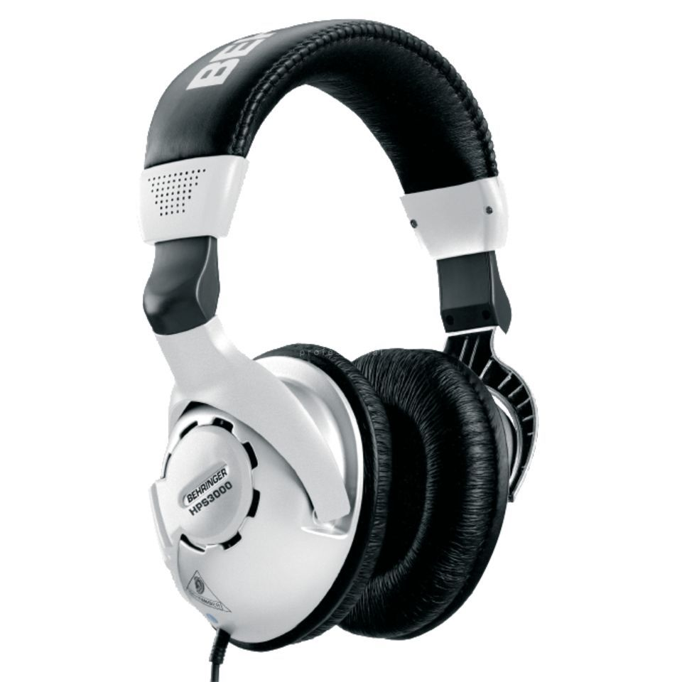 Behringer HPS 3000 Studio-Headphone half open Produktbillede