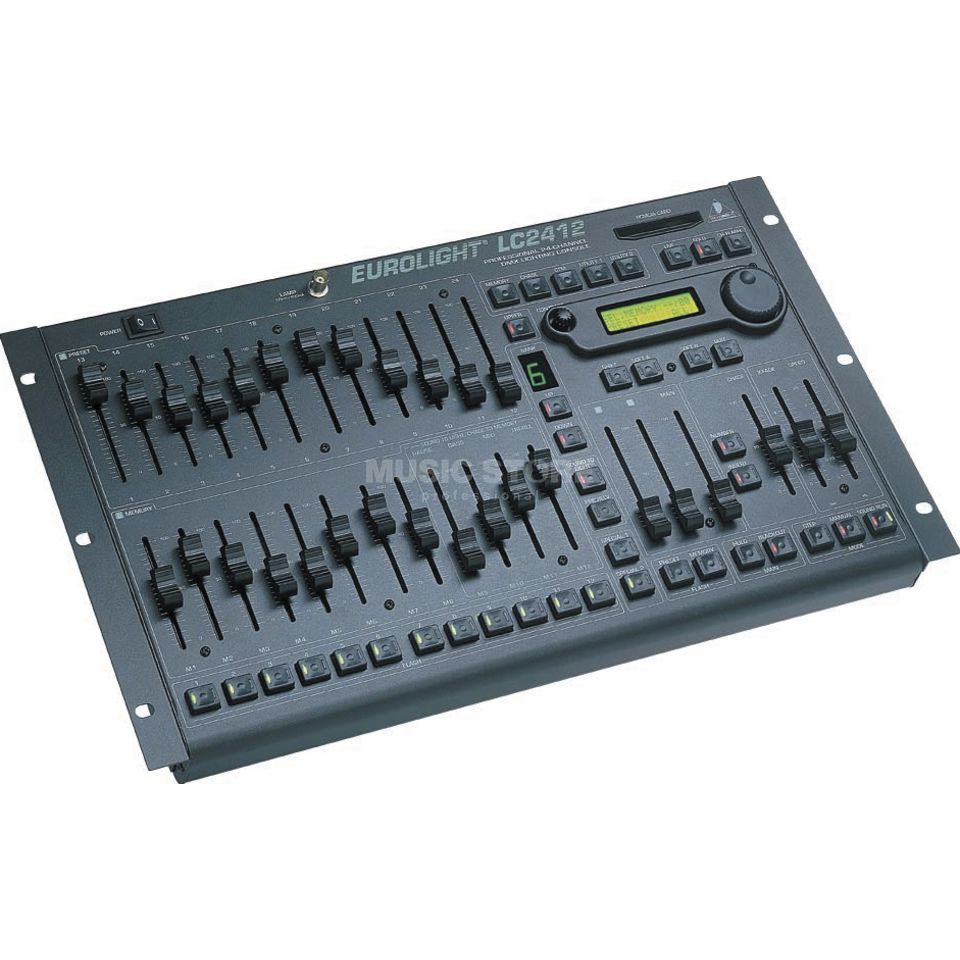 Behringer LC2412 EUROLIGHT Lighting Console Product Image