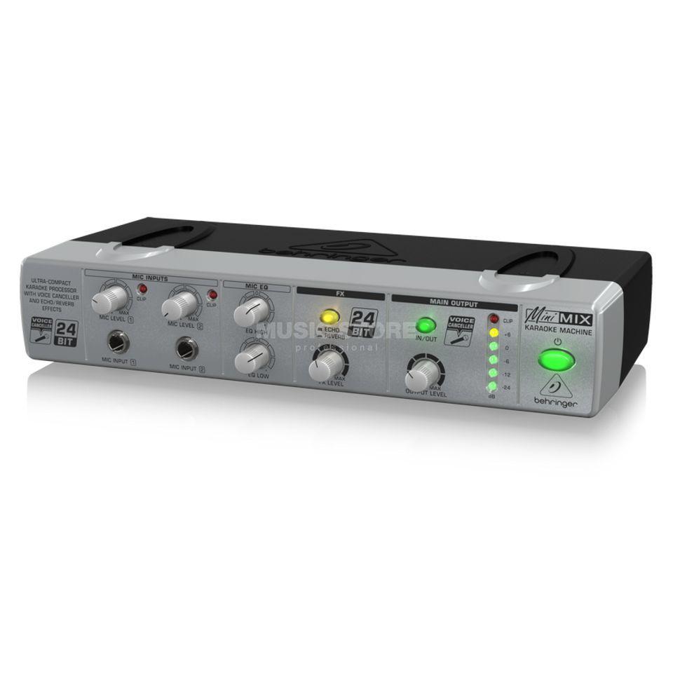 Behringer mix 800 minimix processeur karaok - Table de mixage ibiza mix 800 ...