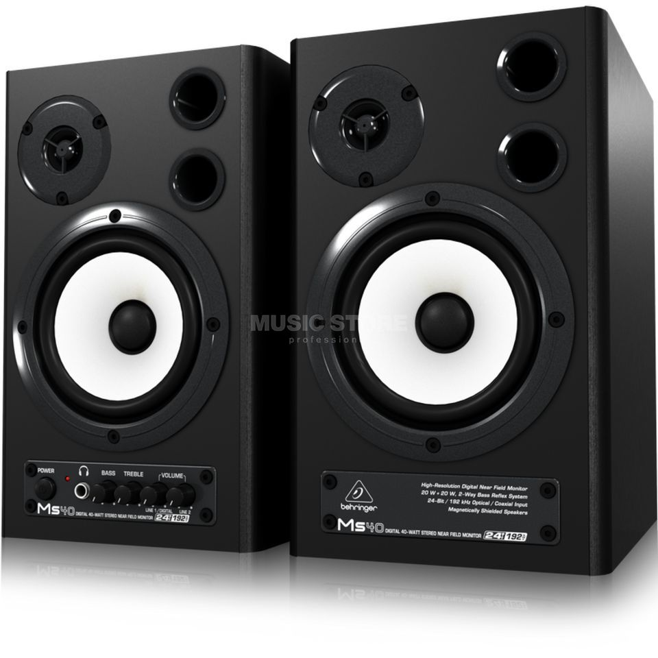 Behringer MS 40 Digital Monitor Speaker  Produktbillede