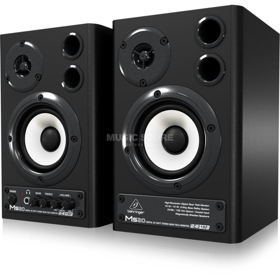 Behringer MS20 Digital Monitor Speaker 2-Wege, 20w, 24bit DAC,