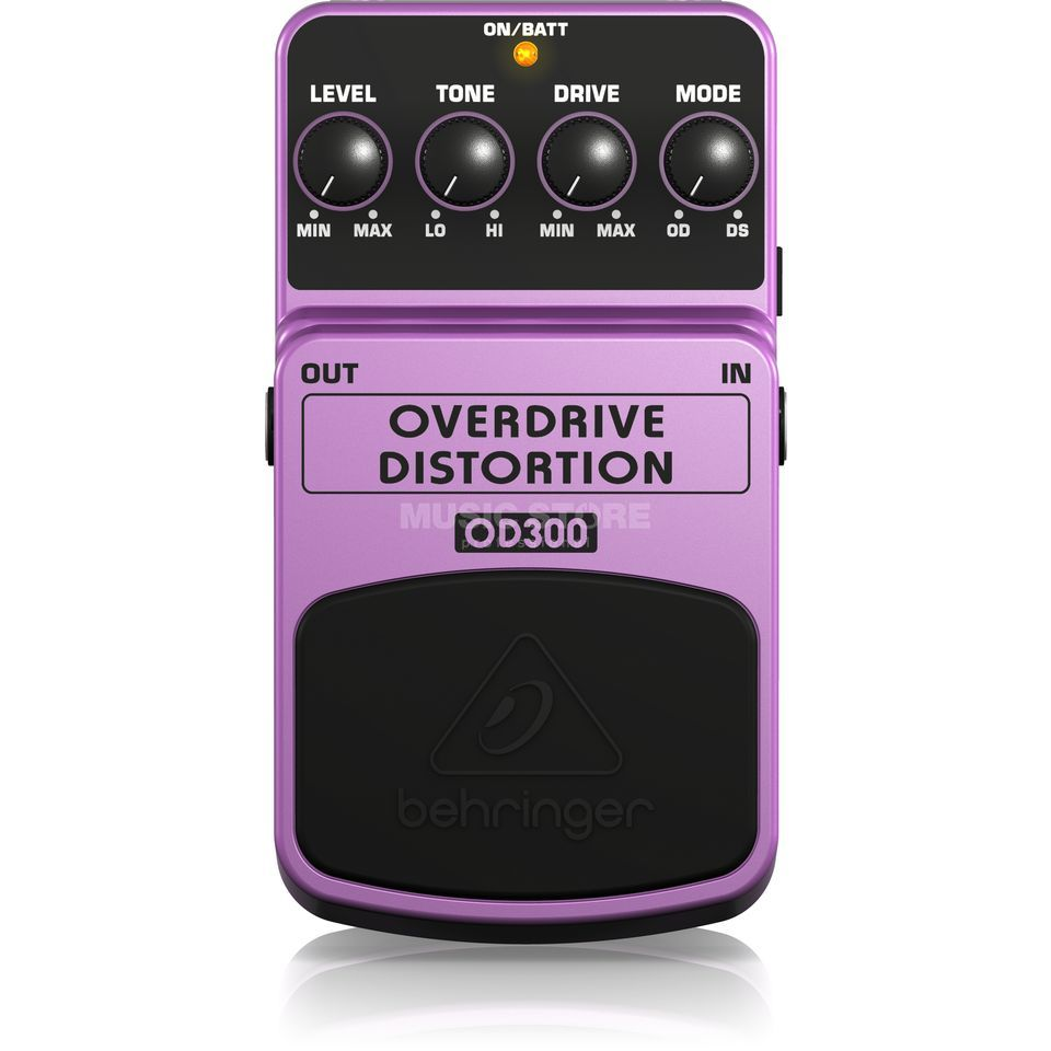 Behringer Overdrive/Distortion OD300 Effects Pedal Produktbillede