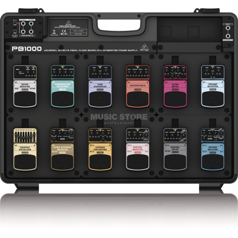behringer pb1000 pedalboard for guitar e ffects pedals. Black Bedroom Furniture Sets. Home Design Ideas