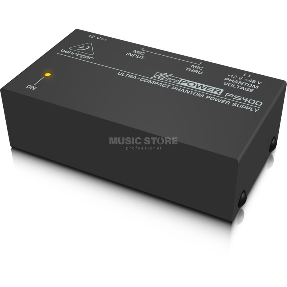 Behringer PS400 MICROPOWER Phantomspeisung-Adapter Produktbild